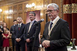 A Magyar Bor Akadémia (MBA) első Életműdíjasa: Tiffán Ede
