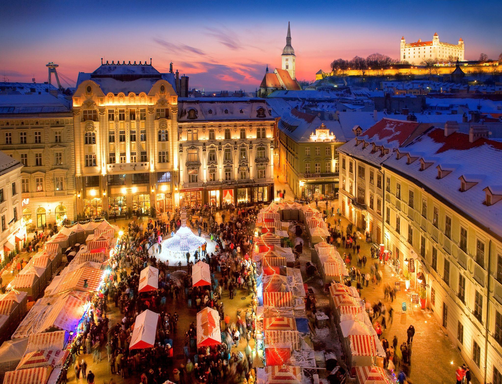 Koronázza meg élményeit Pozsonyban az adventi időszakban is!