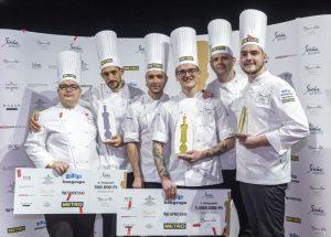 A Bocuse d'Or nemzetközi szakácsverseny magyarországi döntőjét Veres István nyerte!